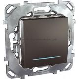 Выключатель MGU5.201.12NZD 1-кл c подсветкой
