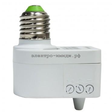 Датчик движения FERON SEN41 микроволновый 60W 5м E27 360 белый